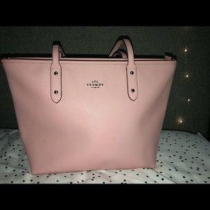 Coach Pink Handbag (tote)